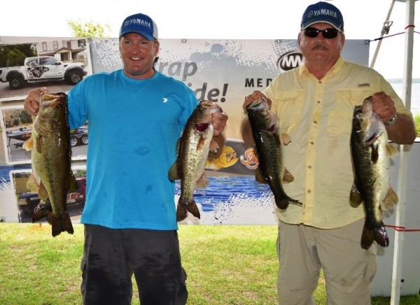 Father son team take top honors at nefar charity bass for Bass fishing tournaments in florida